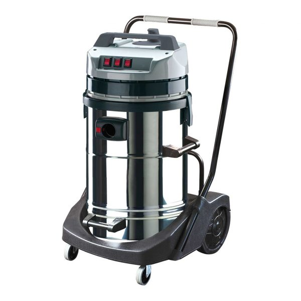 mec ماكينة شفط اتربة و مياه 3 موتور بالتروللي 78 لتر